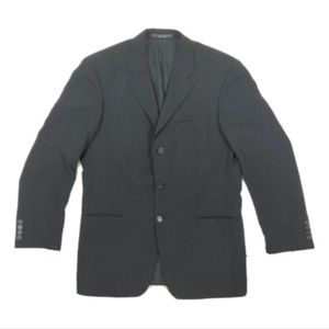 Hugo Boss Mens Black Blazer Jacket 44R
